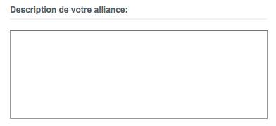 Description alliance